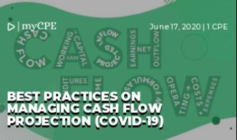 Best practices on managing Cash Flow Projection (COVID-19)