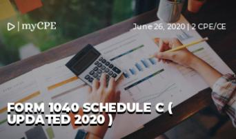Form 1040 Schedule C ( Updated 2020 )