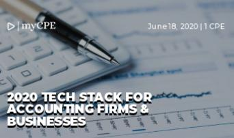 2020 TECH STACK FOR ACCOUNTING FIRMS & BUSINESSES