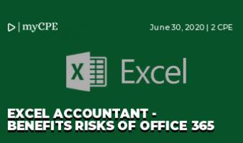 Excel Accountant - Benefits Risks of Office 365