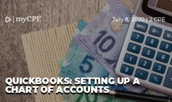 QuickBooks: Setting Up a Chart of Accounts