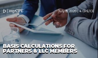Basis Calculations for Partners & LLC Members