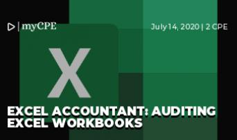 Excel Accountant: Auditing Excel Workbooks