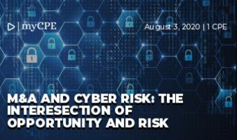M&A and Cyber Risk: The Interesection of Opportunity and Risk