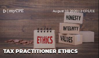 Tax Practitioner Ethics