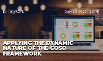 Applying the Dynamic Nature of the COSO Framework