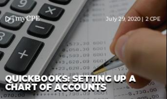 QuickBooks: Setting Up a Chart of Accounts