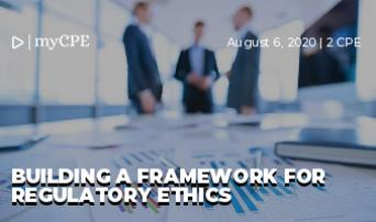 Building a Framework for Regulatory Ethics