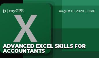 Advanced Excel Skills for Accountants