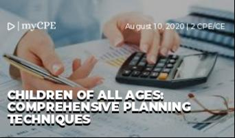 Children of all ages:  Comprehensive Planning Techniques