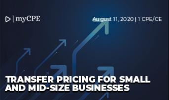 Transfer pricing for small and mid-size businesses