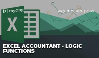 Excel Accountant - Logic Functions