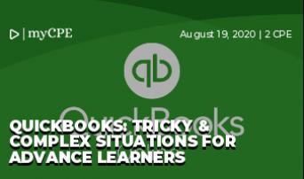 QuickBooks: Tricky & Complex Situations for Advance Learners