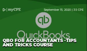 QBO for Accountants -Tips and Tricks Course