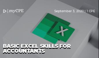Basic Excel Skills for Accountants