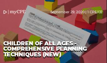 Children of All Ages - Comprehensive Planning Techniques (New)