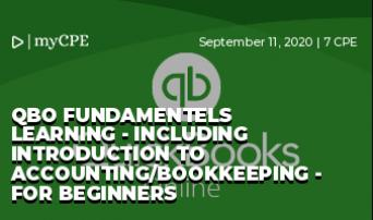 QBO Fundamentels Learning - Including Introduction to Accounting/Bookkeeping - For Beginners