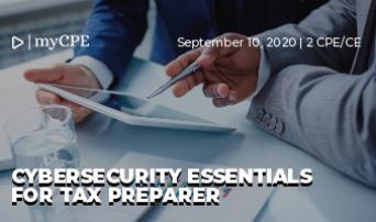 Cybersecurity Essentials for Tax Preparer