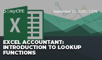 Excel Accountant: Introduction to Lookup Functions