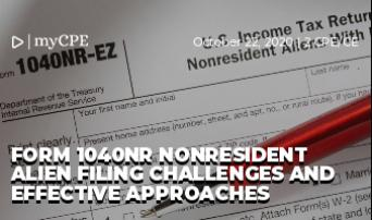 Form 1040NR Nonresident Alien Filing Challenges and Effective Approaches