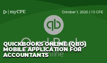 Quickbooks Online (QBO) Mobile Application for Accountants