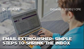 Email Extinguisher: Simple Steps to Shrink the Inbox