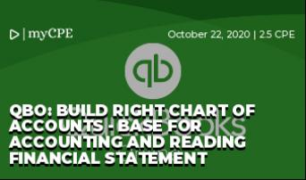 QBO: Build Right Chart of Accounts - Base for Accounting and Reading Financial Statement
