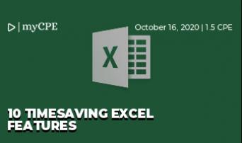 10 Timesaving Excel Features