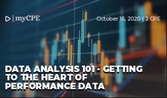 Data Analysis 101 - Getting to the heart of performance data