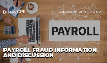 Payroll Fraud Information and Discussion