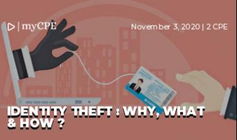 Identity Theft : Why, What & How ?