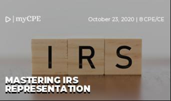 Mastering IRS Representation