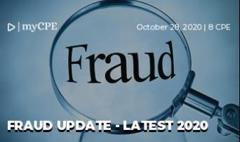 Fraud Update - Latest 2020