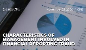 Characteristics of Management involved in Financial Reporting Fraud