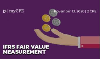 IFRS Fair Value Measurement