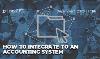 How to Integrate an Accounting System