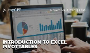 Introduction to Excel PivotTables