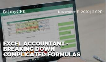 Excel Accountant - Breaking Down Complicated Formulas