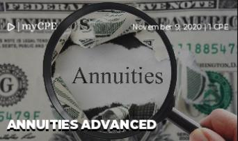 Annuities Advanced