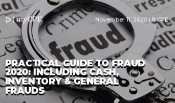 Practical Guide To Fraud 2020: Including Cash, Inventory & General Frauds