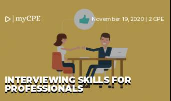 Interviewing Skills for Professionals