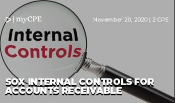 SOX Internal Controls for Accounts Receivable