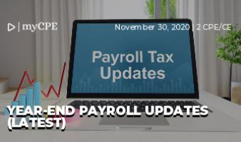Year-End Payroll Updates (Latest)
