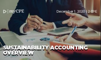 Sustainability Accounting Overview