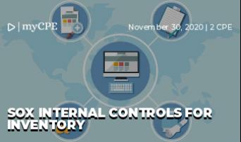 SOX Internal Controls for Inventory