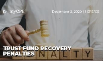 Trust Fund Recovery Penalties