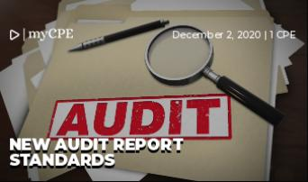 New Audit Report Standards
