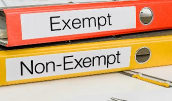 Exempt or Nonexempt?  That is the Question!
