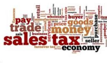 Products and Services Subject to Sales Tax