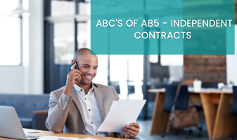 ABC's of AB5: Independent Contracts